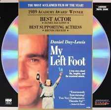 MY LEFT FOOT CLV LASERDISC Daniel Day-Lewis, Brenda Fricker