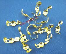 40pz coprinodo con linguetta  terminale 10mm nikel free colore oro