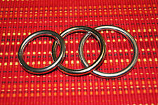 Set of Three! Polished Stainless Steel Cockrings! C-Rings! Set of Three!