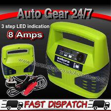12V 8 AMP 2.5 L 2500cc COMPACT 3 passo fino a 15AH to120ah caricabatteria per auto