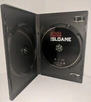 Miss Sloane 2017 Blu-ray DVD Jessica Chastain Disc Only Movie w/ Case Rated R a4