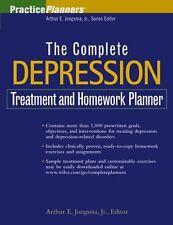 The Complete Depression Treatment and Homework Planner by Arthur E. Jr. Jongsma