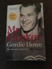 SIGNED AUTOGRAPHED 1st EDITION MR. HOCKEY MY STORY GORDIE HOWE BOOK NEW