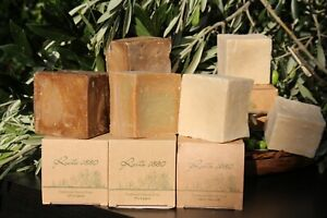 The pure original organic traditional laurel and olive oil soap