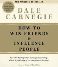 Dale Carnegie - How to Win Friends Influence People AUDIOBOOK CDs New