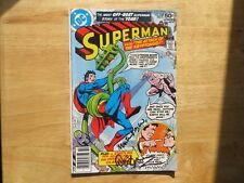 1978 VINTAGE SUPERMAN # 328 SIGNED 2X JOSE GARCIA-LOPEZ & MARTY PASKO, WITH POA