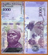Venezuela, 1000 Bolivares, 2016 (2017), P-New, New design, denomination UNC