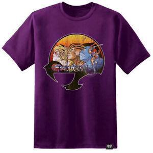 Mens Thundercats Retro TV T Shirt Vintage Classic TerraHawks He Man Skeletor