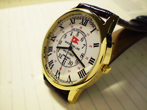 White Star Line,RMS Titanic,New York to Southampton GMT Differential Wrist Watch