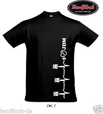 T-Shirt Love JDM Heart Herz UDSM Lifestyle design eg ek ej civic accord mx5 mr2