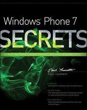 Windows Phone 7 Secrets-ExLibrary