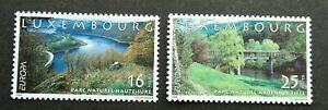 Luxembourg Europa CEPT Parks And Gardens 1999 Bridge Landscape River (stamp) MNH