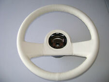 1988 Anniversary Corvette Reproduction Steering Wheel. NEW! Bright White!