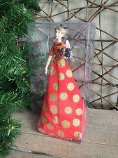 Gisela Graham FASHION FATA Tree Top Natale Fata Angelo 18.5 cm RRP £ 16.50