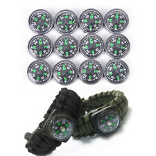 12pcs 20mm Small Pocket Mini Compass for Outdoor Hiking Camping Survival tool GE