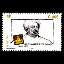 France 2002 - Birth of Alexandre Dumas Writer Art - Sc 2924 MNH