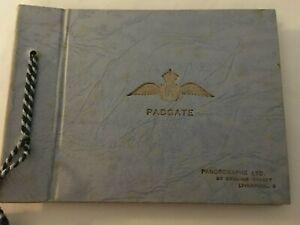 Vintage Photo Album & Photos RAF Padgate & Christmas Card c1952