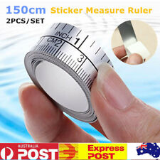 2 x 150cm Measuring Tape Measure Ruler Sticker Self Adhesive For Sewing Machine