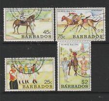 Barbados 1990 Horse racing VFU/CTO SG 915/8