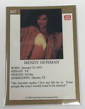1992 Lime Rock Pro Cheerleaders Wendy Newman #107