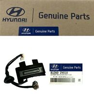 Original Hyundai Outside Trunk Lid Lock Handle 2012-2017 Veloster W Rear Camera