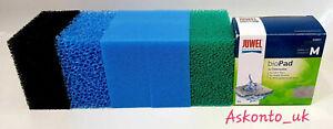 Full Set Compact M Foam Pads Filter/Sponge Fish Tank Replacement Juwel 3.0