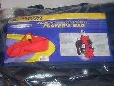 Champro Sports Premium Players Baseball Softball Fastpitch Bat Equipment Bag E67