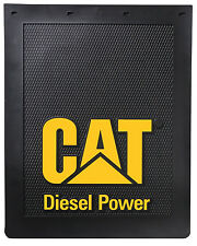 "Caterpillar CAT ""Diesel Power"" 24"" x 30"" Semi Truck Mud Flaps/Splash Guards"