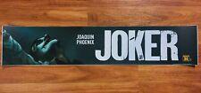 💥 JOKER (2019) - Joaquin Phoenix - Movie Theater Poster / Mylar - LARGE 5x25