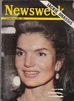Newsweek Mag Jackie Kennedy Onassis October 2, 1968 081319nonr