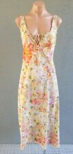 ❤️ TOGETHER Sleeveless Sheath Midi Dress Floral Size 12 Buy7=FreePost L619
