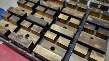 (12) Erowa Er-010793/Er-093774 Slotted Brass Electrode Holder Sinker Edm; 3R
