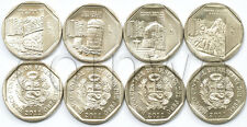 PERU 4 COINS SET 2011 WEALTH AND PRIDE OF PERU UNC (#1510)