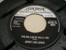Jerry Lee Lewis-The Ballad of Billy Joe/LET'S TALK ABOUT IT
