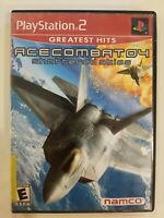 Ace Combat 04: Shattered Skies Greatest Hits (Sony PlayStation 2, 2001) PS2 CIB