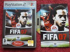 FIFA 07 versión PLATINUM SONY PLAYSTATION 2 PS2 PAL