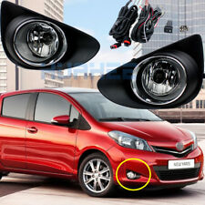 Front Fog Light Assemblies For 2012~2014 Toyota Yaris L LE Hatchback /Vitz 2013