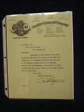 STAUFFER CHEMICAL CO. CRESCO FERTLIZERS SAN FRANCISCO 1914 LETTERHEAD