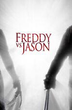Stampa incorniciata-Freddy vs Jason Film POSTER (FOTO FILM DELL'ORRORE OPERA D'ARTE Goth)