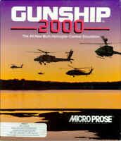 Gunship 2000 Vintage PC Video Game 1991 MicroProse DOS CD-Rom - DISC ONLY
