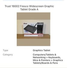Trust 18002 Fresco Widescreen Graphic Tablet Grade A