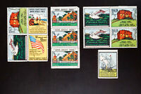 US Vintage Scenes of Long Island Stamp Lot