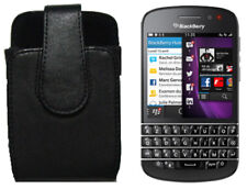 NEW BlackBerry Q10 Q5 Bold 9900 9930 OEM Leather Swivel Case Holster Clip Pouch