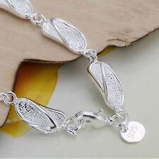 Edles Design 925 Sterling Silber Armband Armkette  Hochglanz Neu