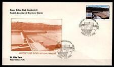 Projekt Kläranlage in Güzelyurt(Nordzypern). FDC. Türkisch Zypern 1986