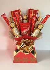 Lindt & Ferrero Rocher Chocolate Bouquet gift Candy Tree