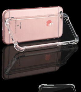 360° CLEAR TPU Case Armar Shockproof Full Protector Cover For i phone 6 / 6s