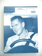 Genuine Ford Fiesta Owners Manual Handbook 2002 - 2005 Inc ST150 CG3418EN....NEW