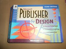 Microsoft Publisher by Design Third Edition Paperback Book for Windows 95