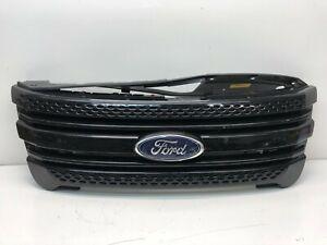 2011 2012 2013 2014 2015 Ford Explorer Police Package Front Bumper Grille OEM